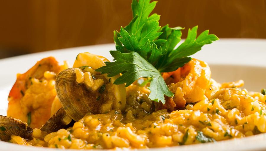 risotto-frutti-di-mare-briante-chef-fumetto-pesce-crostacei-prodotti-cucina-professional-derado-matera-basilicata