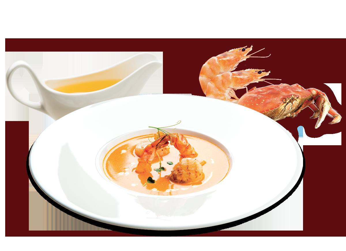 zuppa-crostacei-briante-chef-fumetto-pesce-crostacei-prodotti-cucina-professional-derado-matera-basilicata